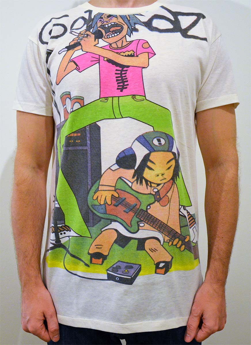 Tshirt Gorillaz Demon Days